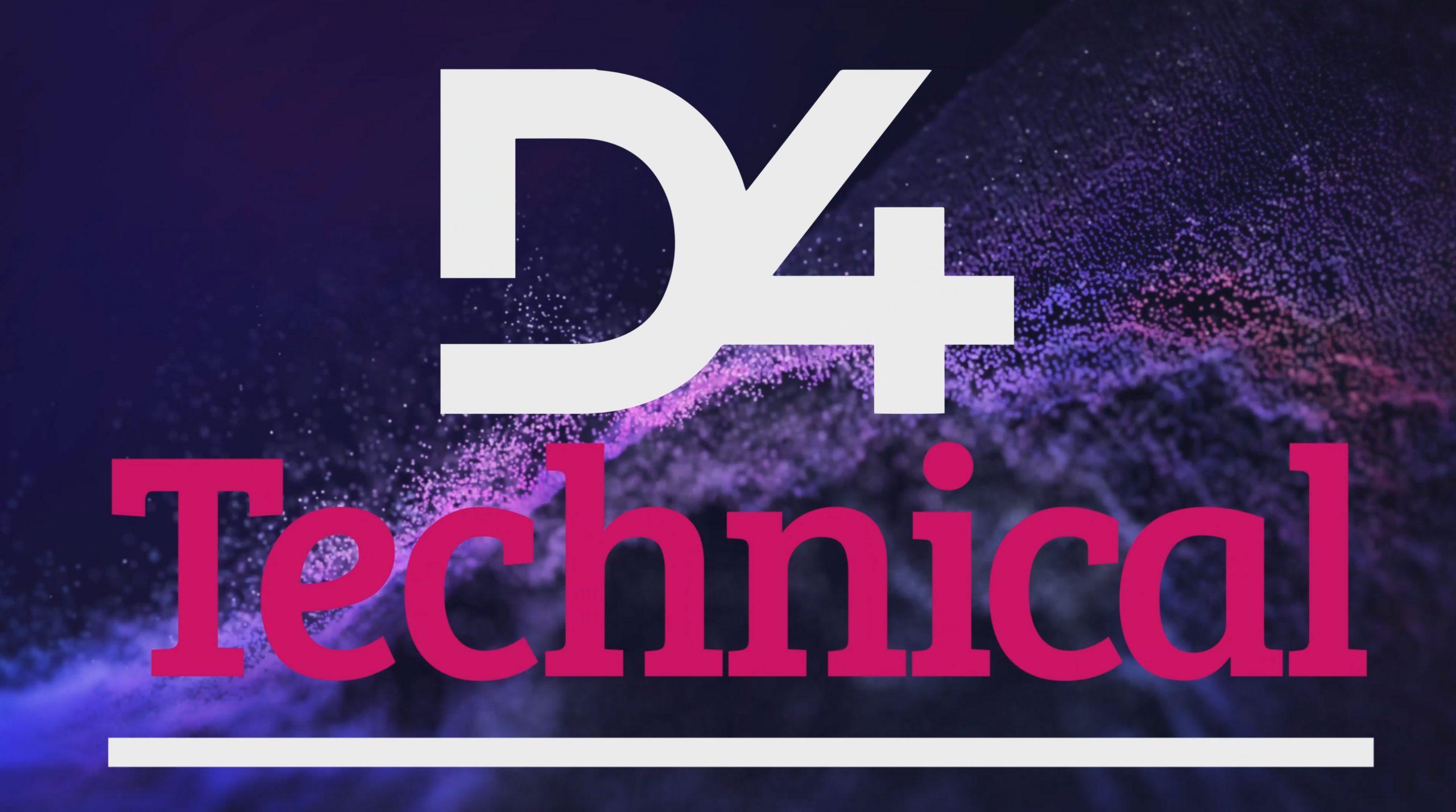 D4 Technical logo